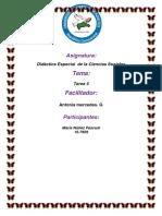 Tarea 4 de Didactica Especial de La Ciencias Sociales MARIA
