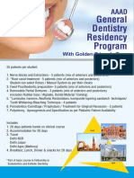 AAAD General Dentistry Residency Program