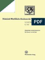 Sundermann, Werner - Der Sermon von der Seele. Ein Literaturwerk des östlichen Manichäismus 1991