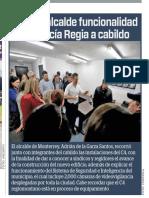 15-02-19 Explica alcalde funcionalidad de Policía Regia a cabildo