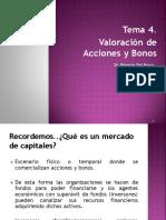 Tema 4. Acciones y Bonos I 14