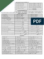 Tabela Derivadas e Integrais Completa (1)
