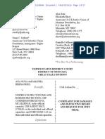 Filed Suda Complaint