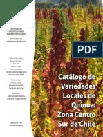 Catalogo variedades locales de quinoa Zona Centro y sur de Chile