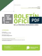 Boletín Oficial Pcia Buenos Aires 15 de febrero de 2019