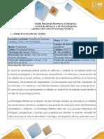 Syllabus Del Curso Psicología Política.1