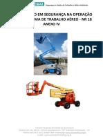CARTILHA SEGURANÇA E OPERAÇÃO EM PLATAFORMA DE TRABALHO AEREO