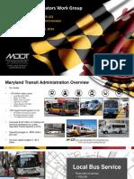 Maryland Transit Administration 101