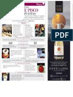 Revista Wiken  - Los Nuevos Bares de Pisco