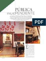 Revista Vivienda y Decoración - Chipe Libre - Nov 2014