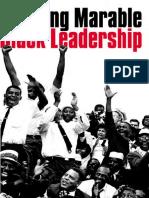 Black Leadership Marable