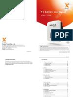X1 Boost Install Manual