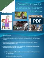 Conducta Prosocial, Conducta de Ayuda y Altruismo