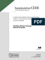 Jaramillo y Camargo 2011 - La intervención Estatal en el mercado del Suelo.pdf