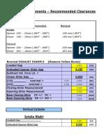 Ducati 4-Valve Adjustment Worksheet
