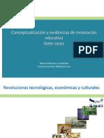Conceptualizacion y Evidencias de Innovación Educativa (Versión 03-10-18 UTPC 84)