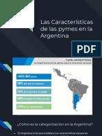 características de las pequeñas y medianas empresas en Argentina