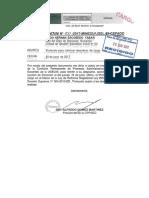 Protocolo Abandono de Cargo Ugel 03