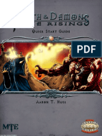 Faith & Demons the Rising - Quick Start Guide