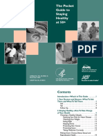 (AHRQ Publication, No. 04-IP001-A) United States. Agency for Healthcare Research and Quality._ AARP (Organization)_ Put Prevention Into Practice (Program) - The Pocket Guide to Stay