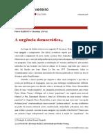 Dardot e Laval - Urgencia Democratica