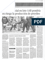 S.4 Conflicto en La Selva Sobre Petroleo y La Comunidad Indigena