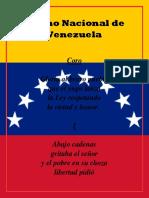 Himno de Venezuela Documento 3