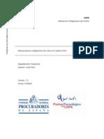 Manual configuración correo en Outlook 2003