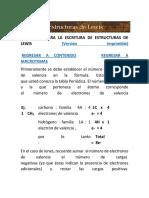 1.1.1.-Ejemplos de La Estructura de Lewis