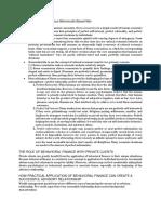 Finman 2b Notes