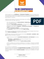 Carta compromiso de los Ciudadanos Libres
