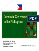 Corporate Governance by JJMoreno APEC Hanoi070309