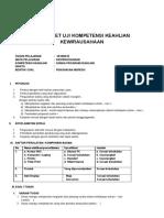 Job Sheet Uji Kompetensi Keahlian Kewirausahaan