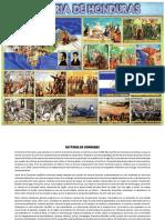 Lamina de La Historia de Honduras
