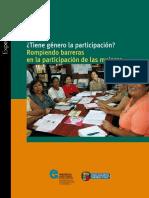¿Tiene género la participación. Rompiendo barreras en la participación de las mujeres.pdf