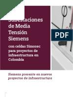 Subestaciones de Media Tensión Siemens