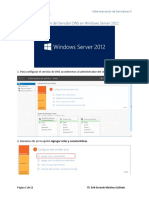 Configuración Del Servidor DNS en Windows Server 2012