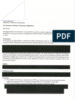 Darren Mackenzie NPCA Contract