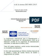 Actualizacion Norma ISO9001-2015 2016 Keyword Principal