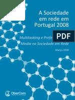 A Sociedade em rede em Portugal 2008
