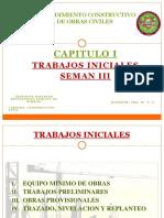01 Procedimientos Constructivos - Trabajos Preliminares
