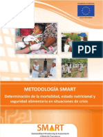 Manual de Metodología de Monitoreo Nutricional en Emergencias (SMART)