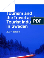 Tourism in Sweden 2007