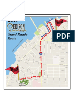 Grand Parade Route Map