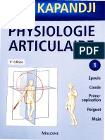 Physiologie Articulaire (Dragged)