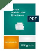 2 - Proceso Administrativo – Organización