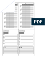 Day Plan Index