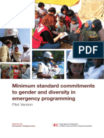 Gender Diversity MSCs Emergency Programming HR3