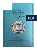 Lapidary Journal Issue 1