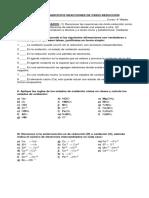Guía de Ejercicios Reacciones de Óxido Reduccion 4 Medio